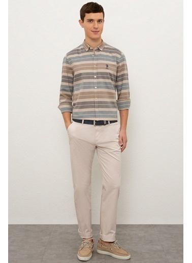 U.S. Polo Assn. Pantolon Taş
